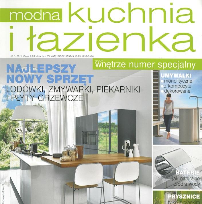 DOBRE WNĘTRZE/ MODNA KUCHNIA I ŁAZIENKA 1/2011 część 2